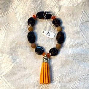 Tangerine Jasper bracelet